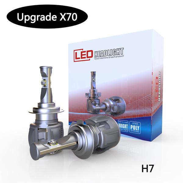 Lámparas H4 H7 Delanteros H1 15000LM LED Delanteros 8000K 6000K 9005 Para 9012 Faros D2S H11 Compre Bombillas Cabezales LED Automóviles XHP70 Potentes IWeDYH29E