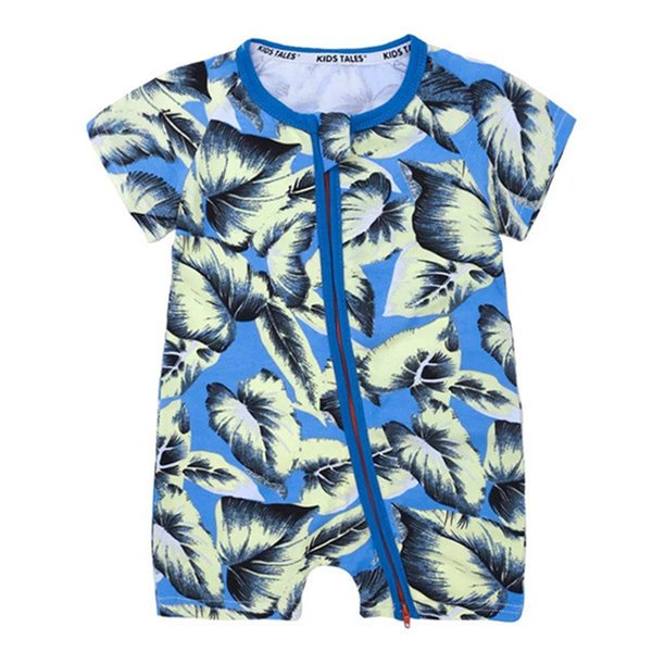 Vintage Baby Boys Onesies Rompers 40+ Designs Girls Cactus Forest Road Newborn Infant Baby Girls Boys Summer Clothes Jumpsuit One-piece