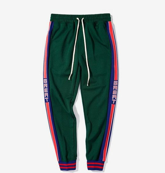 New Preppy Love Legging Pants Letter Printing with Side Striped Jogger Track Pants Legging Pants Elastic Waist Casual Jogger Clothing