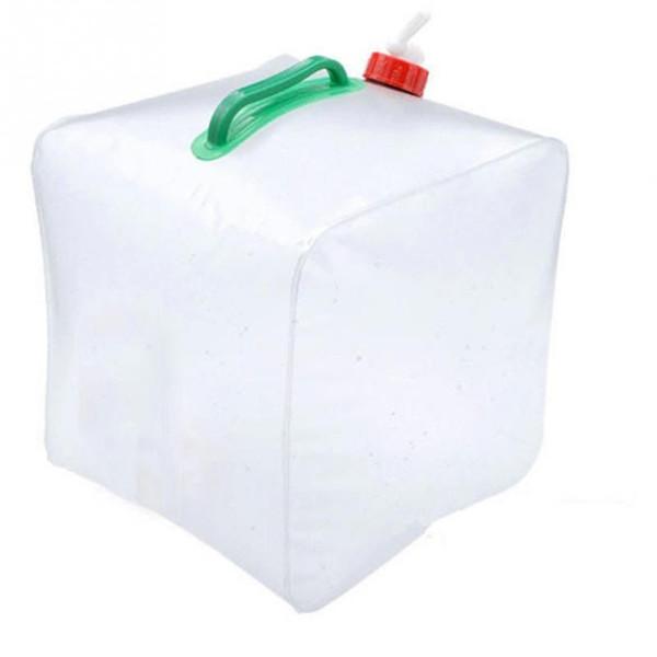 Vente en gros-extérieur 20L pliable PVC eau potable transportant l'eau sac de conteneur pour le camping