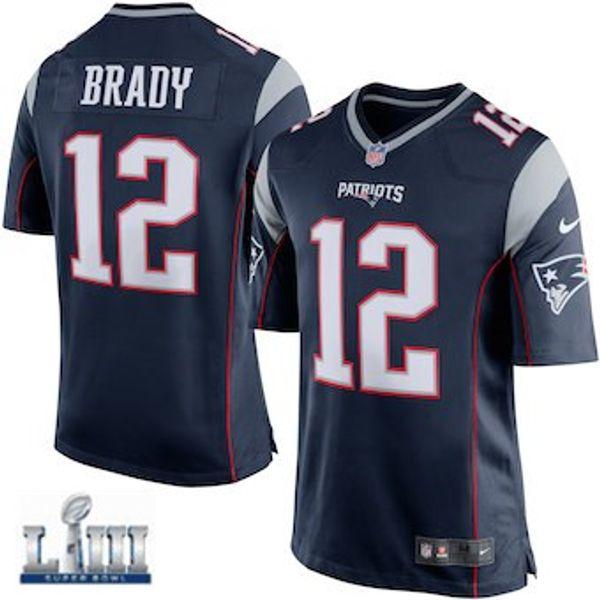 free shipping 0ab04 c2470 2019 Patriots Tom Brady Jersey Super Bowl LIII Rob Gronkowski Julian  Edelman Custom Vapor Untouchable Color Rush American Football Jerseys Cheap  From ...