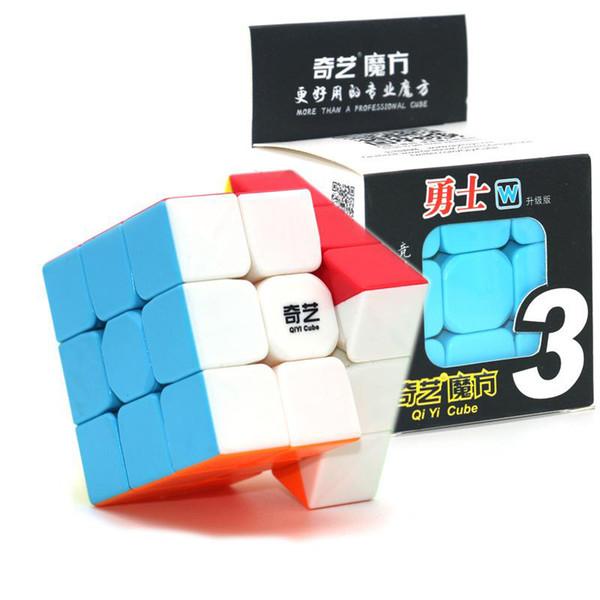 Puzzle cubo 3 * 3 dimensioni 6 cm Mini Magic Rubik Cube Gioco Rubik Learning Gioco educativo Rubik Cube Regalo di Natale Toy Decompression giocattoli per bambini