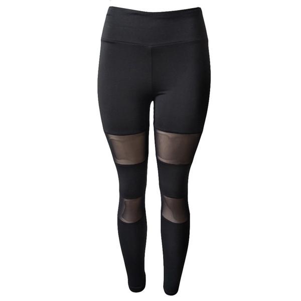 yoga leggings 2019 Women Fashion Spliced sexy gym clothes sport trousers women yoga broek mallas deporte mujer fitness push up #844237