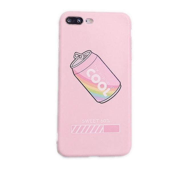 Casos de telefone celular Iphone Ins pequeno porco fresco dos desenhos animados adequado para Apple XS / XR escudo do telefone móvel