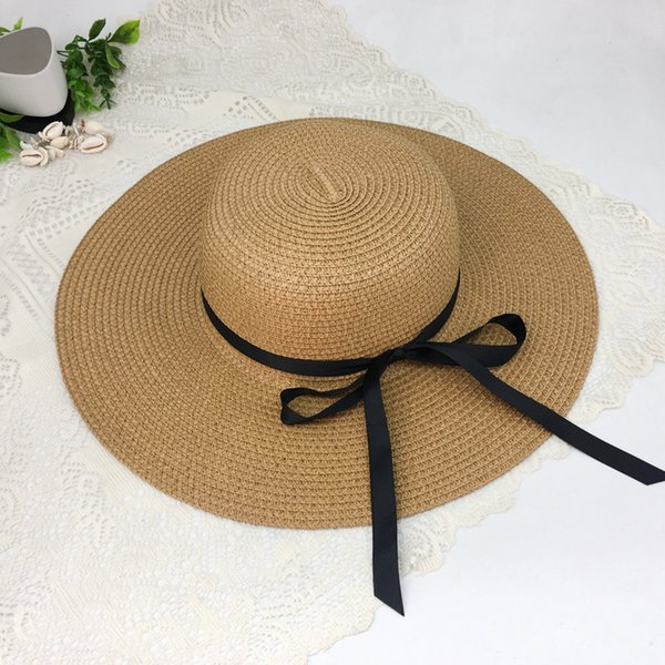 Maxi factory direct sales multi colors Womens UPF 50 Straw Sun Hat Floppy Wide Brim Fashion Beach Accessories Packable