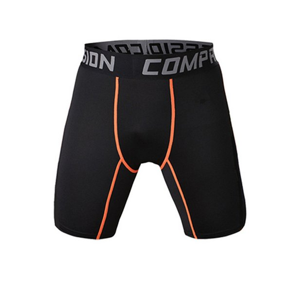 2019 New Plus Size M-3XL Men Compression Shorts Pants Fitness Running Sports Athletic Tight Gym Briefs Pouch Short Underwear Hot