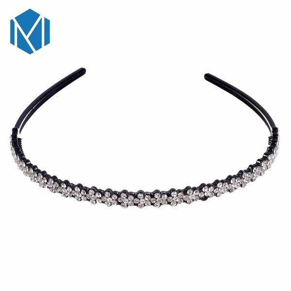 Women Headband Flower Hairband Girl Hairbands Jewelry Female Rhinestone Headwear Hair Hoop for Lady Hair Accessories