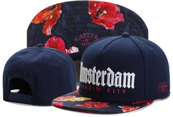 Hot Cool New Arrival Snapbacks Hats Cap Cayler & Sons Snap back Baseball casual Caps Hat Adjustable size drop Shipping