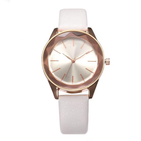 2019 new hot fashion casual simple ladies watch, colorful quartz wrist watch female models