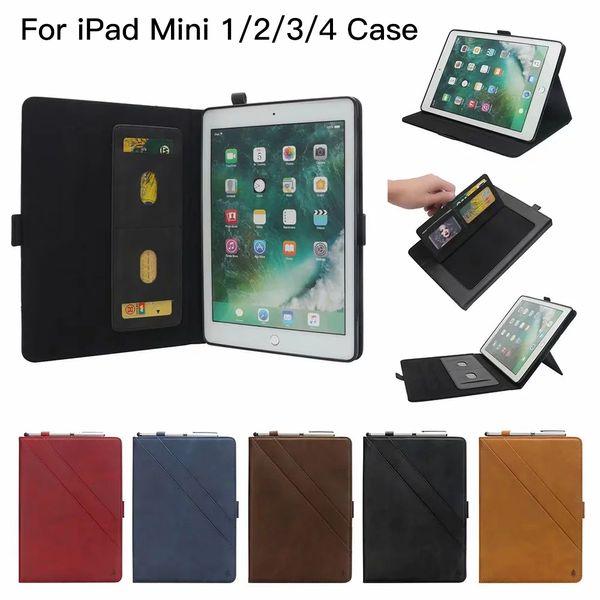 Double Kickstand-Art-Stift-Schlitz-Tablet-PC-Kasten für iPad Air 2 Mini 1 2 3 4 Pro 7,9 9,7 10,5 11 12,9 Zoll 2016 2017 2018