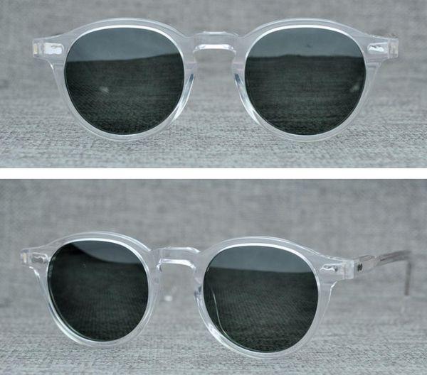 Fashion Brand Men Women Sunglasses Retro Round Sunglasses Men European Style Sunglasses for Women Lemtosh Sun Glasses with Original Case