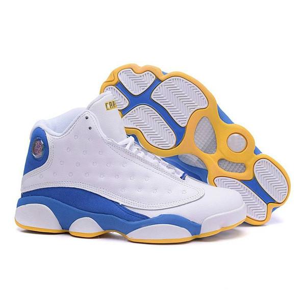 Zapatillas de baloncesto para hombre jumpman 13 retro AJ 13S Air flight Xiii AJ13 Ray Green lo que es amor zapatillas de deporte botas tamaño 7-12 z12