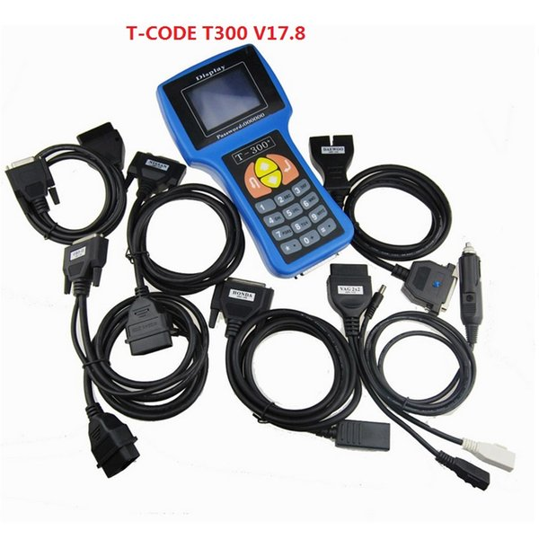 A ++ Calidad T300 T300 Auto clave Código del programador del software T V 17.8 Soporte multi marca Coches T300 Key Maker