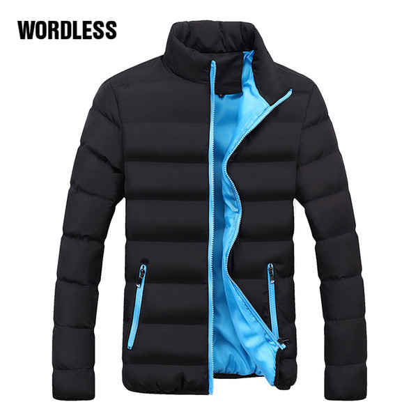 New Fashion Winter Casual Jacket Men Thick Coat Mens Brand Masculino Warm Padded Parka Coat Male Thick Outdoor Slim Youth Jacket
