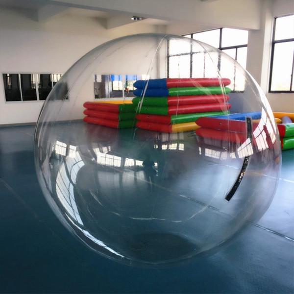 Бесплатная Доставка Dia 2.5 м Производство Водные Игры Спортивные Игрушки Сумасшедший Надувной Зорбинг Мяч Для Ходьбы Воды Мяч для детей и Взрослых