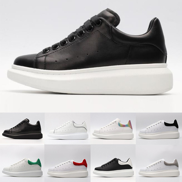 2019 Ace Black White Queens Brand Fashion Leather Casual Shoes For Women Men Black Gold Red Fashion Comfortable Flat Sneaker From Sneakers Sale