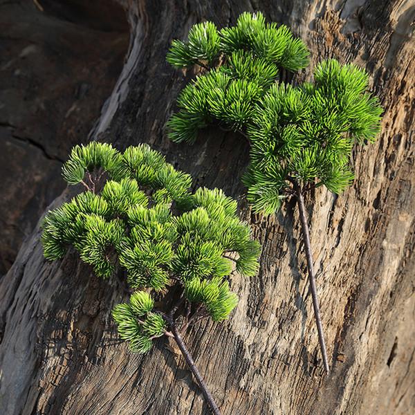 42 CM Tannenzweig Kunststoff Künstliche Grünpflanzen Gefälschte Tannenzweige Für Home Office Deor Zierpflanze