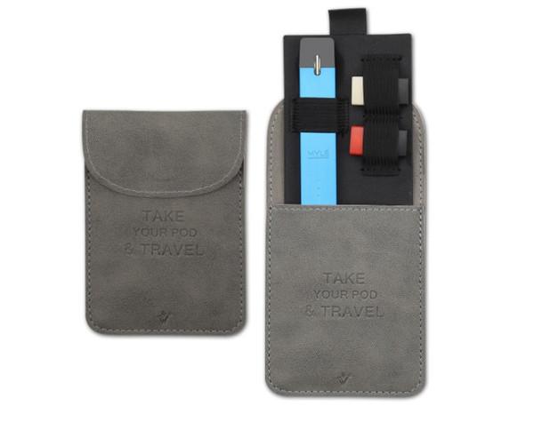 Best selling vape pocket case for J U U L vape pods case E cigarette pods bag
