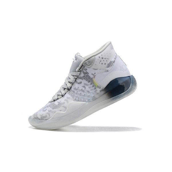 Cheap womens kd 12 basketball shoes kds White Multi Navy Blue Pink Oreo boys girls youth kids kd12 kevin durant xii sneakers tennis with box