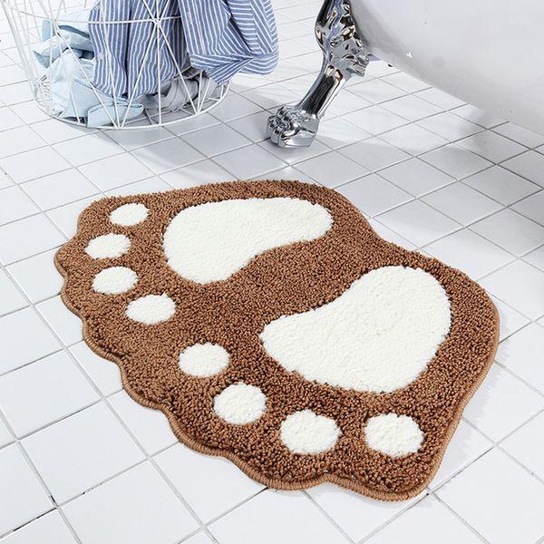 top popular 7 colors high quality size ankle bathroom anti-slip mat carpet kitchen bathroom water-absorbing anti-slip mats door mat 2021