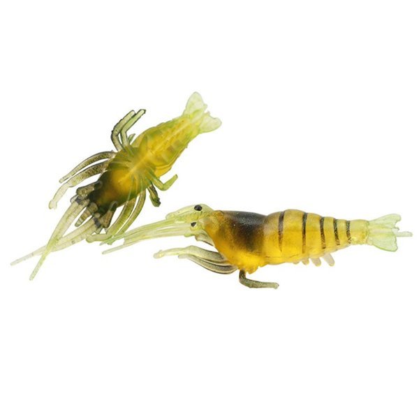 1pcs 4cm 1g Simulation Shrimp Silicone Fishing Lure Soft Baits & Lures Artificial Bait Pesca Fishing Tackle Accessories