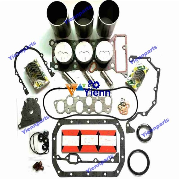 3KC2 Motor Überholsatz für Isuzu Traktor Gabelstapler LKW Bagger Traktor Dieselmotor Ersatzteile