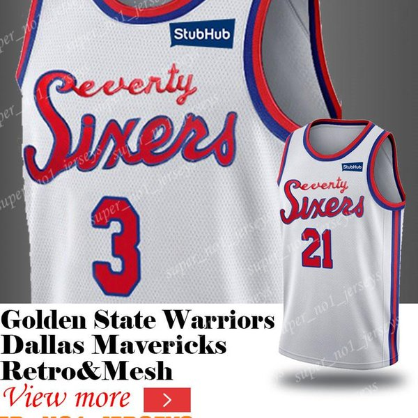 new style 0fd0d 81658 2019 76ers Jersey Philadelphia Classic Edition Jerseys 3 Allen Jersey  Iverson 21 Joel Shirts Embiid 25 Ben Basketball Simmons Jerseys Horford  From ...