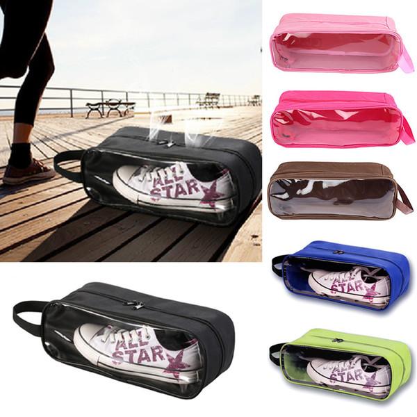 Portable Waterproof Football Shoe Storage Bag Travel Breathable Organizer Sports Gym Carry Storage Case Box Xmas Free Shipping