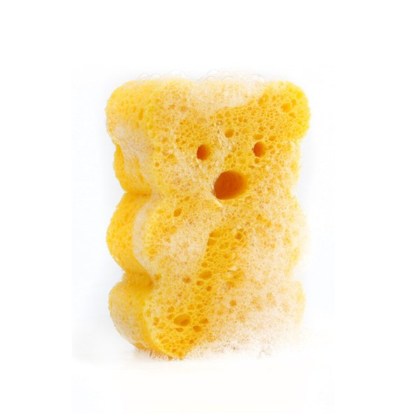 Baby bath sponge cotton bath towel bath ball wipe child shampoo brush artifact Cartoon duck Cute shape