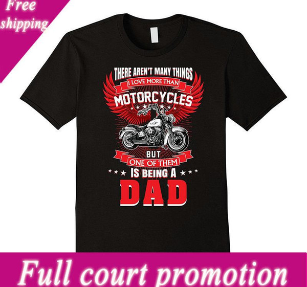 Satış 100% Pamuk T Shirt Motosiklet Rider Bir Baba Olmak Tshirt Baba Motosiklet Büyükbaba Kısa O-Boyun Ofis Tee Erkekler Için