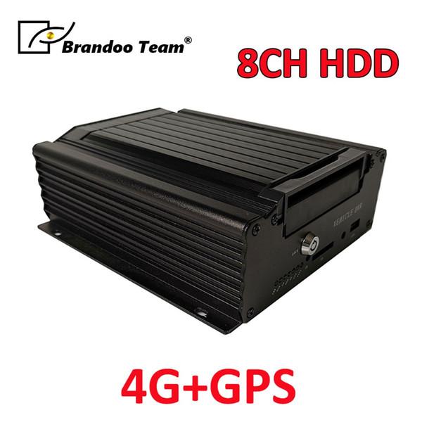 8-канальный видеорегистратор mdvr h.265 3g видеорегистратор 4G GPS mdvr 8-канальный жесткий диск видеорегистратор видеорегистратор автомобиль мобильный NTSC / PAL система автомобиль