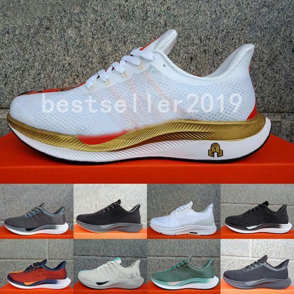 Compre 2019 New Limited Zoom Pegasus 35 Turbo 2.0 Zapatillas De Running Mujer Hombre Entrenadores Vino Blanco Rojo React ZoomX Zapatillas Vaporfly