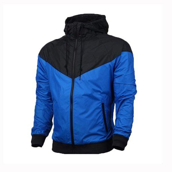 Дизайнерские куртки для мужчин Спортивная куртка-ветровка Тренажерный зал Футбольные пальто Плюс Размер Толстовки на молнии Марка Беговые куртки S-3XL 9963CE