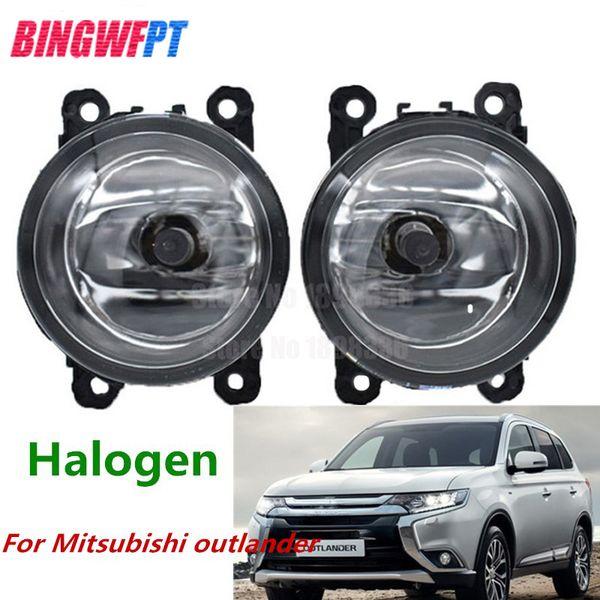 Halogen Light For Cars >> Front Fog Lights Car Styling Round Bumper Halogen Light Fog Lamps For Mitsubishi Outlander 2018 Fog Led Lights Cars Fog Light From Xiaomiauto 21 11