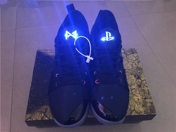 2019 New Paul George PG 2 II Basketball-Schuh-PG2 PlayStation All-Star Taurus March Madness Luminous Zunge Sport Sneakers Outdoor-Schuhe