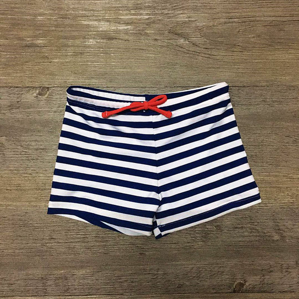 2019 Striped Print Kids Sunga Infantil Children Swimming Trunks for A Boy Beach Trunks Children Swimsuit Swimwear Bathing Suit free shipping