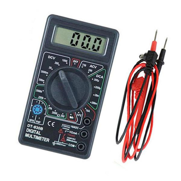 Digital Tester Multimeter Voltmeter Amperemeter Ohm Tester AC DC Ampere
