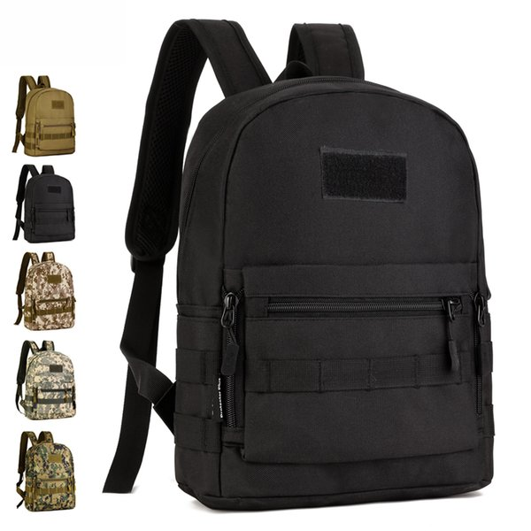 10 liters small outdoor tactics backpack fans equipment for hiking climbing men women molle bag sports rucksack s425 thumbnail