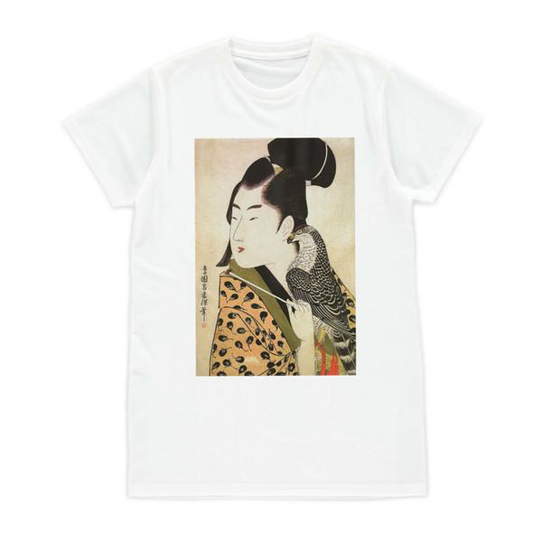 Japon Ukiyo-e Tişörtlü Woodblock Sanat Japonya Samurai Kadın Erkek Baskılı Tee TopCool Casual gurur t gömlek erkekler Unisex Moda