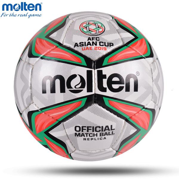 2019 Molten Asie Ballon de football de haute qualité Taille professionnelle 4 Taille 5 Balles League Football Sport Formation match bola de futebol T191128