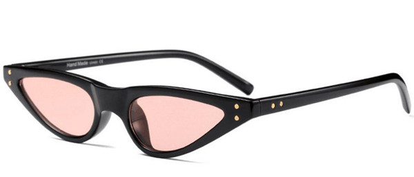 Sexy Ladies Cat Eye Sunglasses 2019 Femmes Brand Design Petit chat Frame Lunettes de soleil Goutte d'Eau Forme Femme 3272