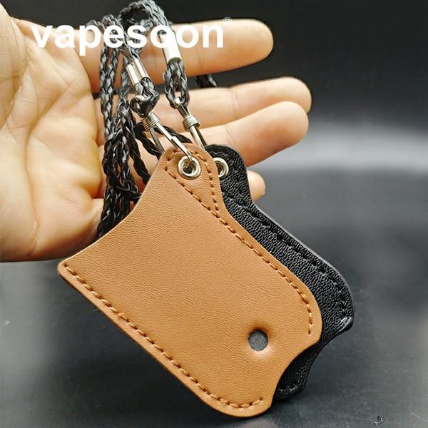 1 adet PU taşıma çantası İpi Leatgher çanta Sıfır Pod çanta Kılıfı Cep ECIG Vape aksesuarları Için