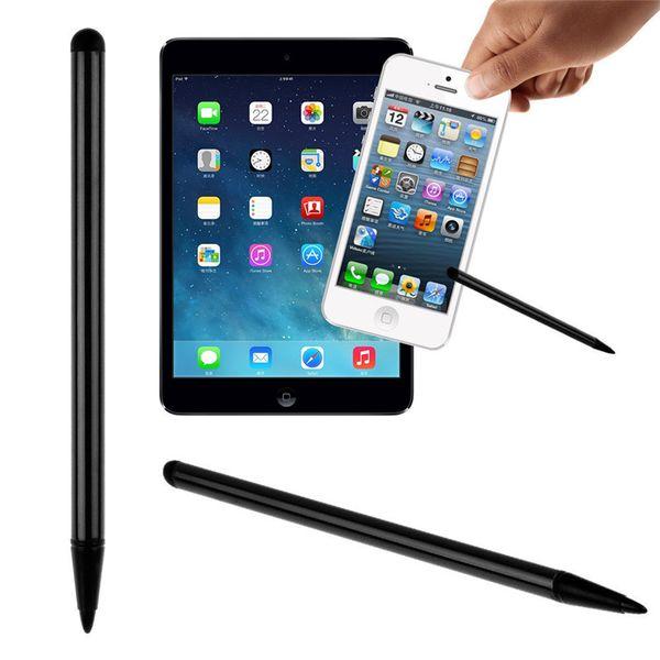 Resistivo universal Capacitivo Stylus Pen Pantalla táctil Metal para iPhone iPad Samsung Tableta Teléfono inteligente GPS NDS Jugador STY161
