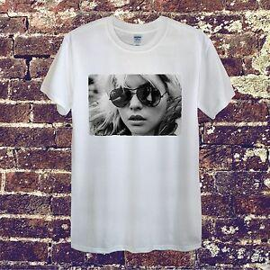 Debbie Harry Blondie Estrela Projeto Do Vintage T Shirt Das Mulheres Dos Homens Unisex Americano Sexy