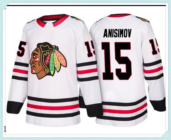 Tamaño 2019 2020 jerseys del hockey de secado rápido del rojo azul bordado Logos hombres libres del envío al por mayor baratos Jersey823