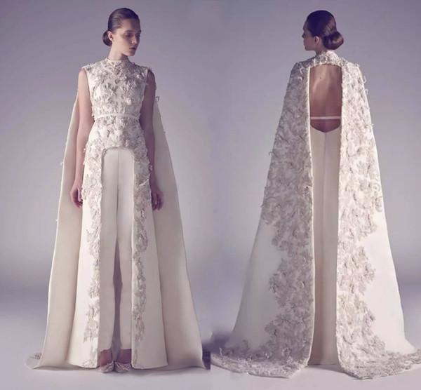Cuello alto Vestidos de fiesta largos Apliques Funda Desgaste Frente Mejor vestido de noche formal para 2019 Nuevos vestidos de noche árabes HY6313