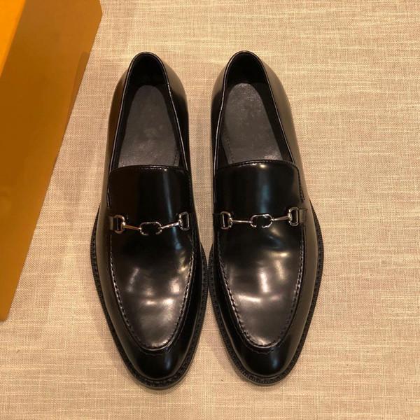 zapatos del vintage 2019SS vendimia zapatos tacones de diseño de la marca de los hombres altos zapatos superiores de cuero de vaca resorte y el tamaño de camuflaje otoño US 6-11 MEEEEE