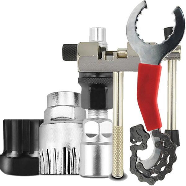 Bicycle Bike MTB Repair Tool Kit Crank Extractor Chain Breaker Bracket Remover