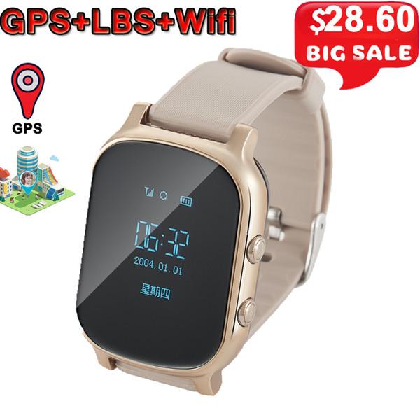 T58 Kids Smart Watch GPS Wifi Smart Tracker Antil-lost Baby Elder Fitness Tracker SOS Children Smartwatch Student Smartwatch.
