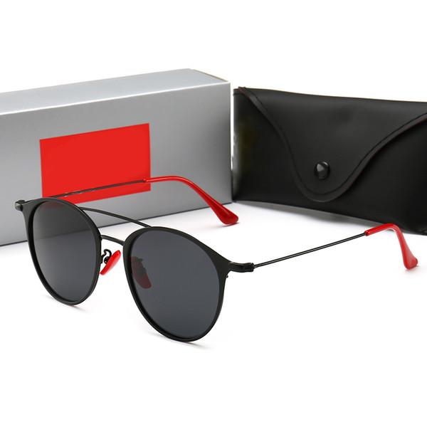 Mode classique luxe hommes lunettes de soleil femmes lunettes de soleil noir cadre vintage style extérieur lunettes de soleil de designer classique modèle 17 avec boîte